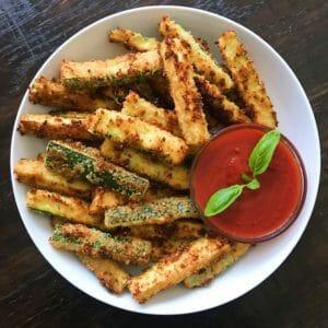 gluten-free zucchini fries